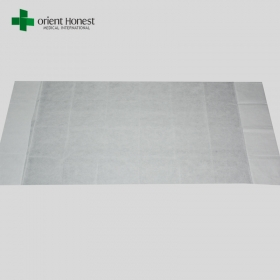 China PP ambulance cot sheets , SMS disposable fitted stretcher sheets , PP+PE fitted gurney sheets exporter China factory