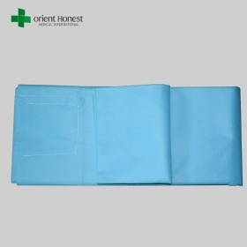 China PP disposable fitted sheets , SMS stretcher medical sheet , single use rescue sheet supplier China factory