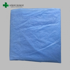 China PP nonwoven bed sheet for hotel , blood resistant SMS surgeon bed sheet , low-cost bed cover sheet factory factory