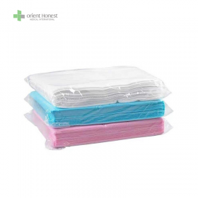 China PP white disposable bed sheets for hotel  to prevent dust factory