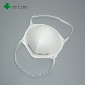 China Protective white disposable particulate N95 dust mask manufacturers factory