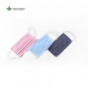 China Spunlaced Non woven Smooth face mask factory