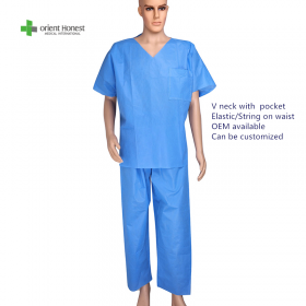 China V neck surgical gown factory