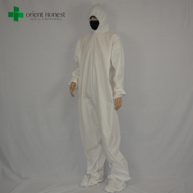 China china manufacturer chemical protective coveralls, the best quality industrial coveralls,wholesales chemical protective uniform factory