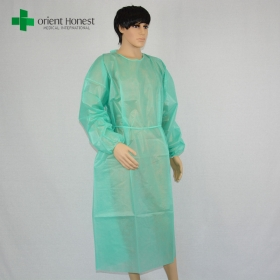 China custom anti-static disposable gown ,China the best disposable doctor gown,China factory disposable surgeon gowns factory