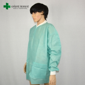 China disposable SMS dental surgical lab coat,custom wholesale surgical lab coats,hostpital disposable lab coats factory