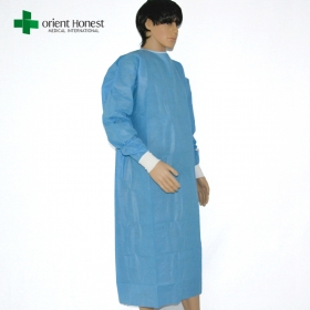 China disposable hospital gowns,sms hospital gowns,medical disposable gown for hospital factory