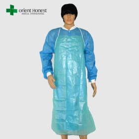 China disposable surgical apron,best plastic apron wholesales,china medical apron supplier factory