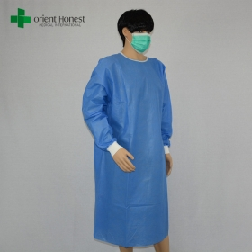 China exporter disposable sms surgical gown ,hospital surgical gown manufacturer,doctor and nurse gown disposable factory