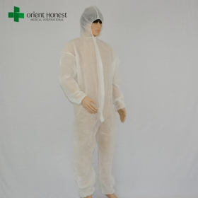 China the best China manufacturer disposable painter coverall,one time use hot selling painter overalls,cheap factory wholesales painters white overalls factory
