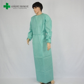China the best Chinese factory  for disposable reinforced sterile hospital surgery gown factory