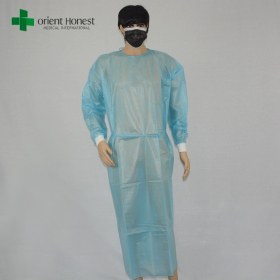 China the best manufacturer waterproof medical surgical gown,doctor use operating gown vendor,disposable operating room gown factory