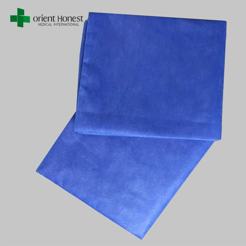 Breathable Hotel Fitted Sheet Disposable Bed Sheets For