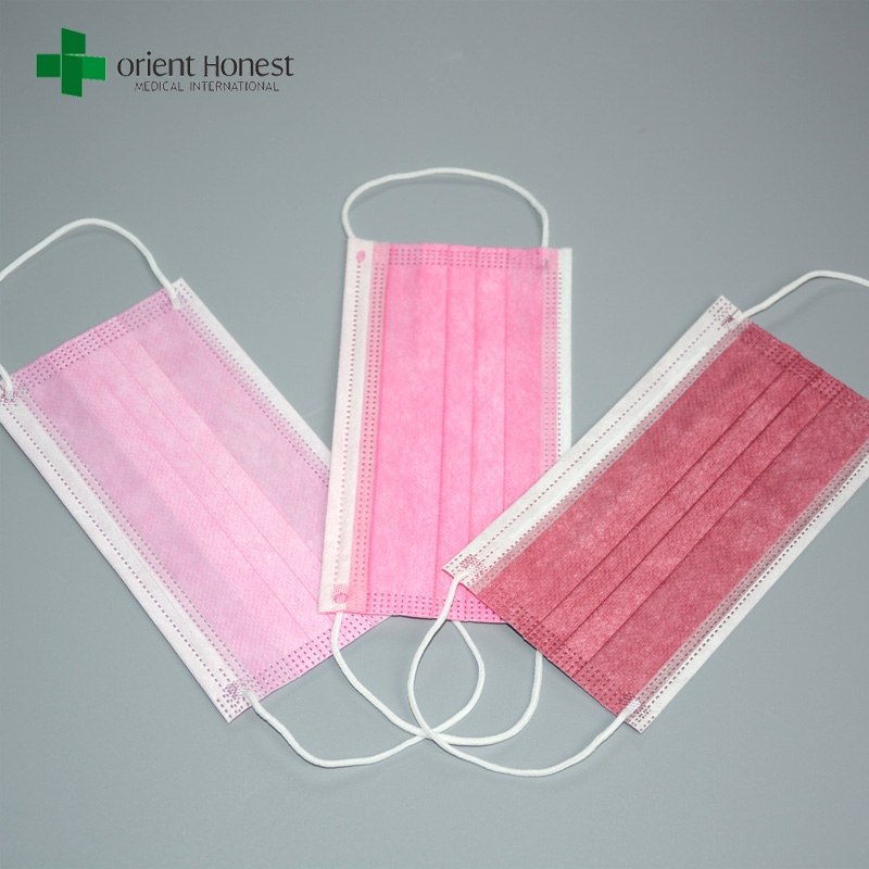 Breathable Medical Mouth Mask Type Iir Dentist Masks