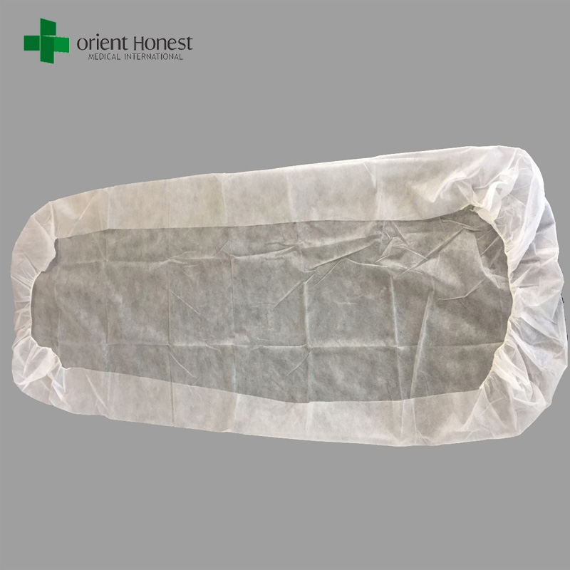 Disposable White Hotel Bed Sheet Low Cost Disposable