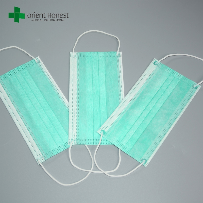 China Vendor For Soft Pleated Face Masks Light Color