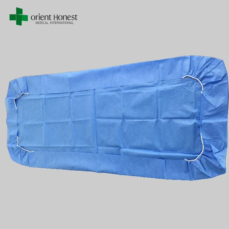 One Time Use Bed Cover With Elastic Fitted Disposable